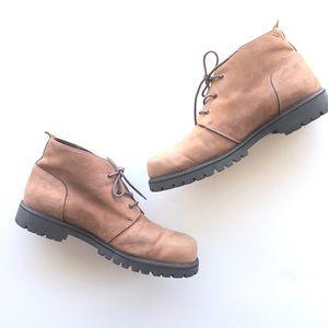 Eddie Bauer Men's Chukka Suede Leather Boots 11M